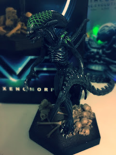 Issue 18 AVP Grid Xenomorph Figurine