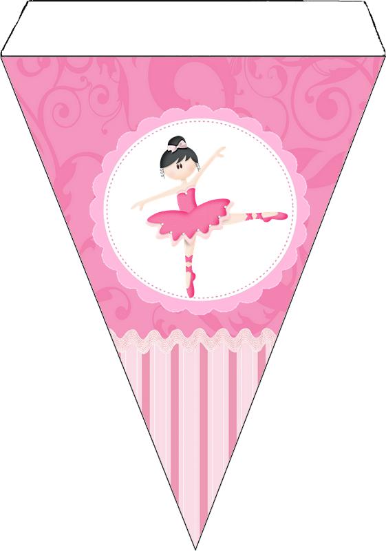 Precioso Kit de Balletista para Imprimir Gratis.