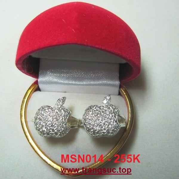 TrangSuc.top - Nhẫn đính đá trắng cao cấp MSN014 - 255.000 VNĐ Liên hệ: 0906 846366(Mr.Giang)