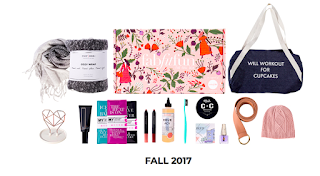 "What products of the Fall 2017 Fab Fit Fun subscription box are a hit or a miss? How many ""fab"", ""fit"", and ""fun"" products do you actually get? I'm answering both these questions by taking a look back at my last 3 boxes - Spring 2018, Winter 2017, and Fall 2017 and talking about whether or not Fab Fit Fun is still worth it. lifestyle blog. 