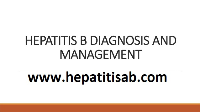 What is HBV Testing & Diagnosis and Management