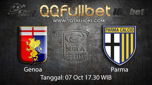 Prediksi Bola Jitu Genoa vs Parma 07 October 2018 ( Italian Serie A )