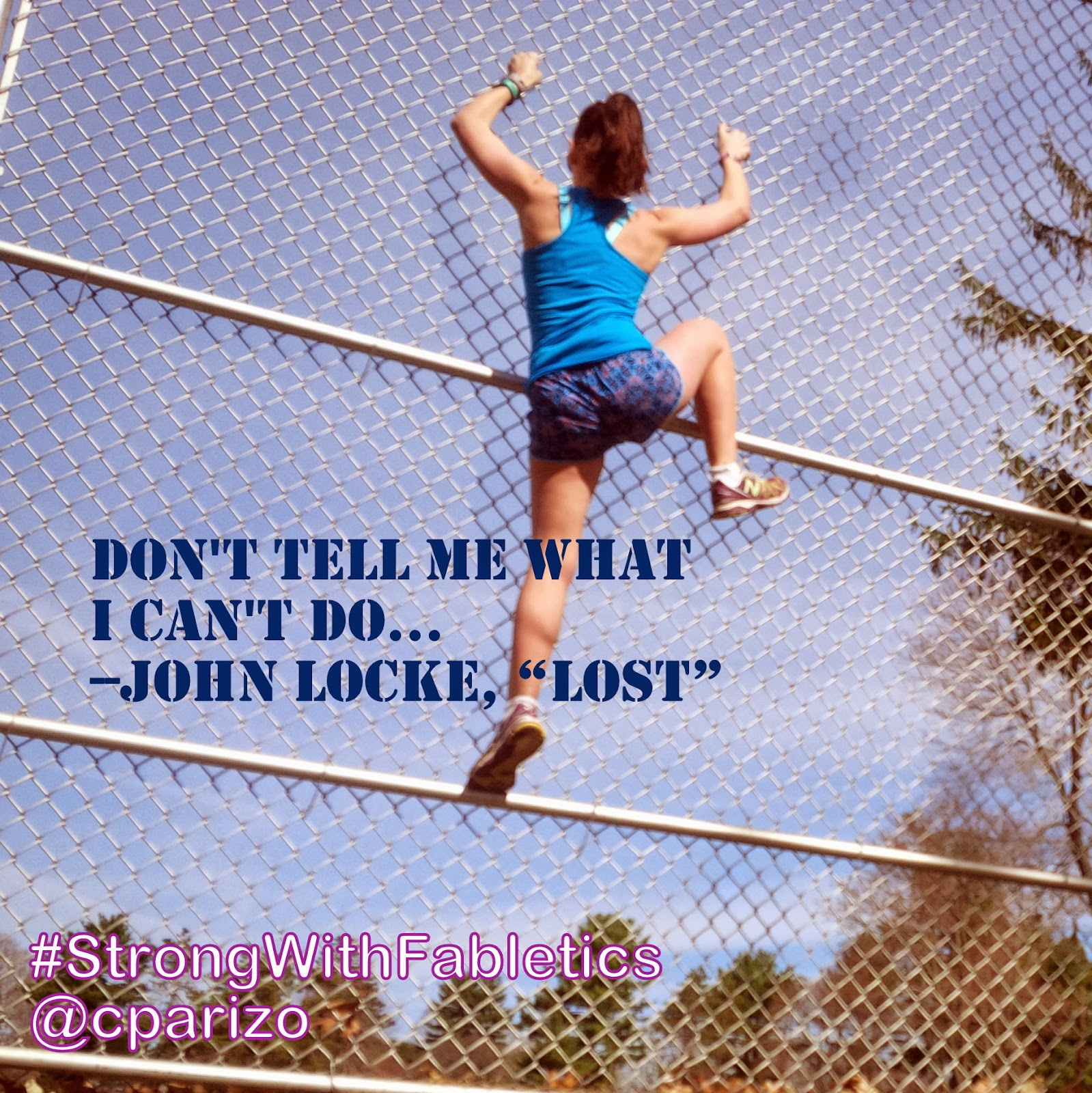 "Don't tell me what I can't do -- John Locke, ""LOST"""