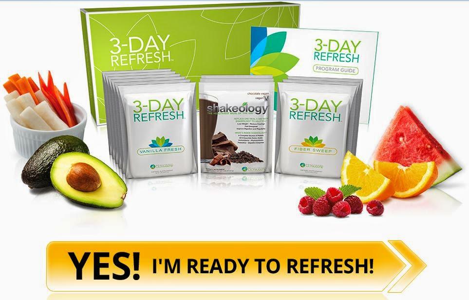 3 day diet, 3 day detox, 3 day refresh