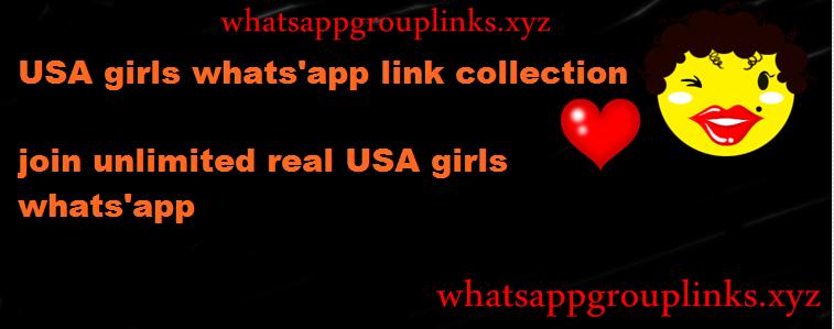 American Whatsapp Group Link Girls
