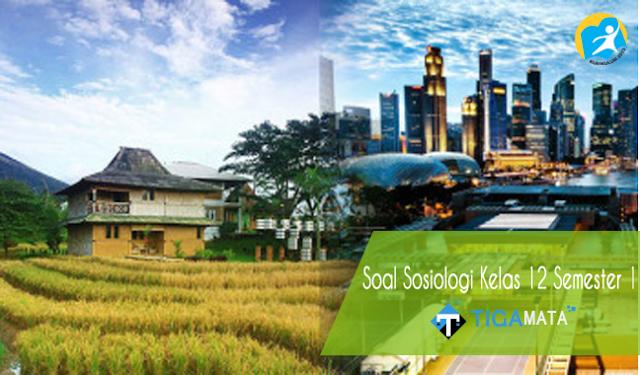 100 Contoh Soal Sosiologi Kelas 12 Semester 1 Kurikulum 2013 dan Jawabannya