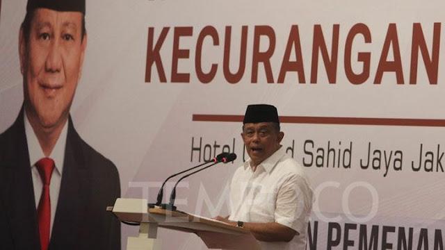 Mantan Ketua BPN 02 Jenderal TNI (Purn) Djoko Santoso Meninggal Dunia