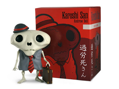 The Salary Man Edition Karoshi San Vinyl Figure by Andrew Bell
