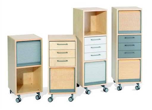office storage cabinets with roller shutters