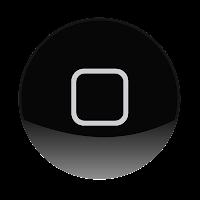 Ilustração apenas do botão principal do iPhone