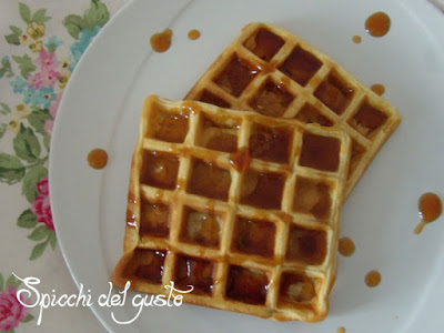 waffle con tostiera severin