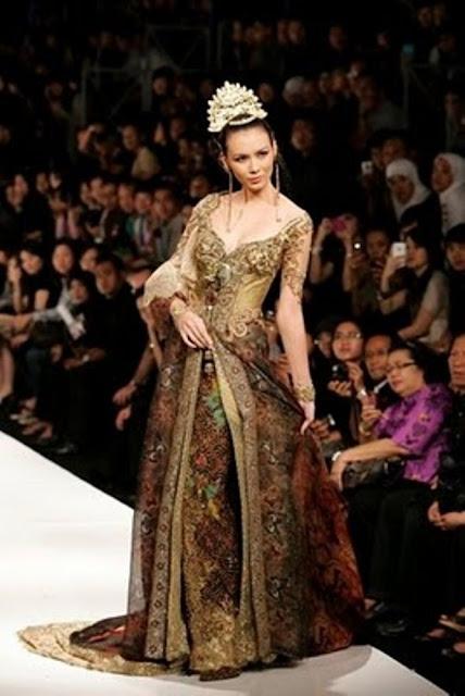 Model baju pengantin kebaya modern