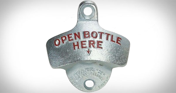 Starr Wall Mounted Bottle Opener