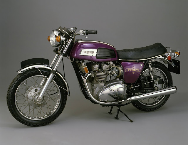 Triumph Trident T150 1960s British classic motorcycle