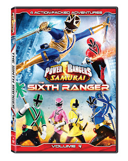 DVD Review - Power Rangers Samurai: Volume 4: The Sixth Ranger