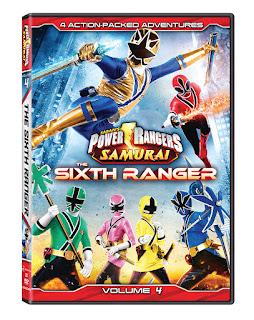 DVD Review - Power Rangers Samurai: Volume 4: The Sixth Ranger