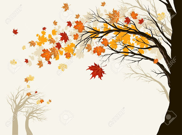 Autumn Tree Stock Vector