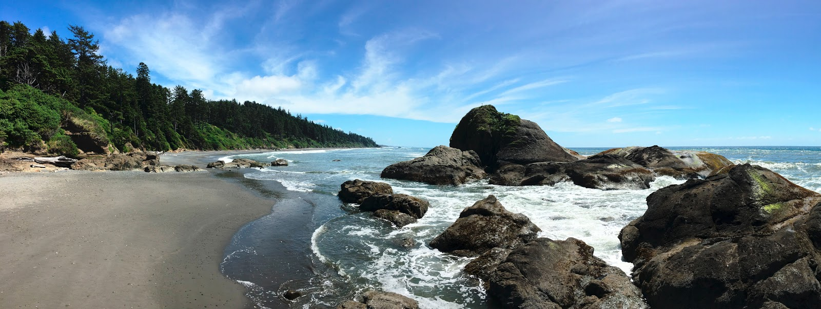 Ruby Beach on Washington's Pacific Coast