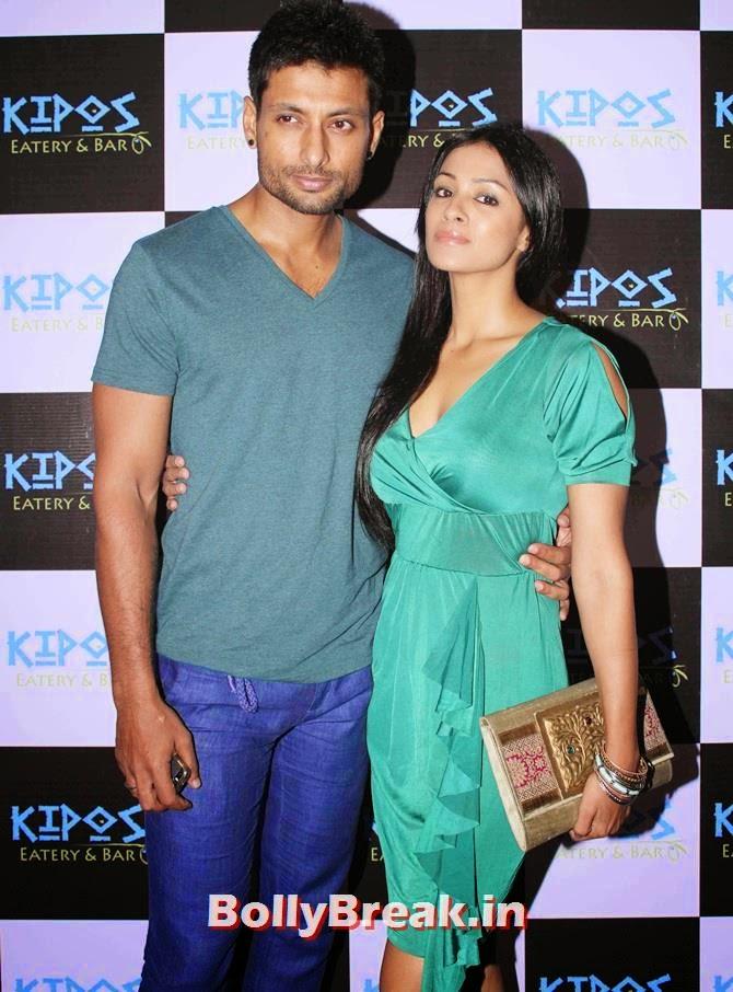 Barkha Bisht and Indraneil Sengupta, Tv Celebs at a restaurant launch