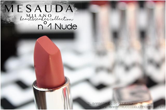recensione 01 Nude opinioni heartbreaker lipstick rossetto matt , matt lipstick mesauda