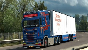 Scania 2016 V8 Open Pipe Sound Mod
