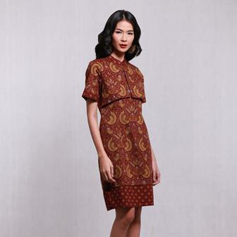 Contoh Baju Batik Kerja Para Wanita