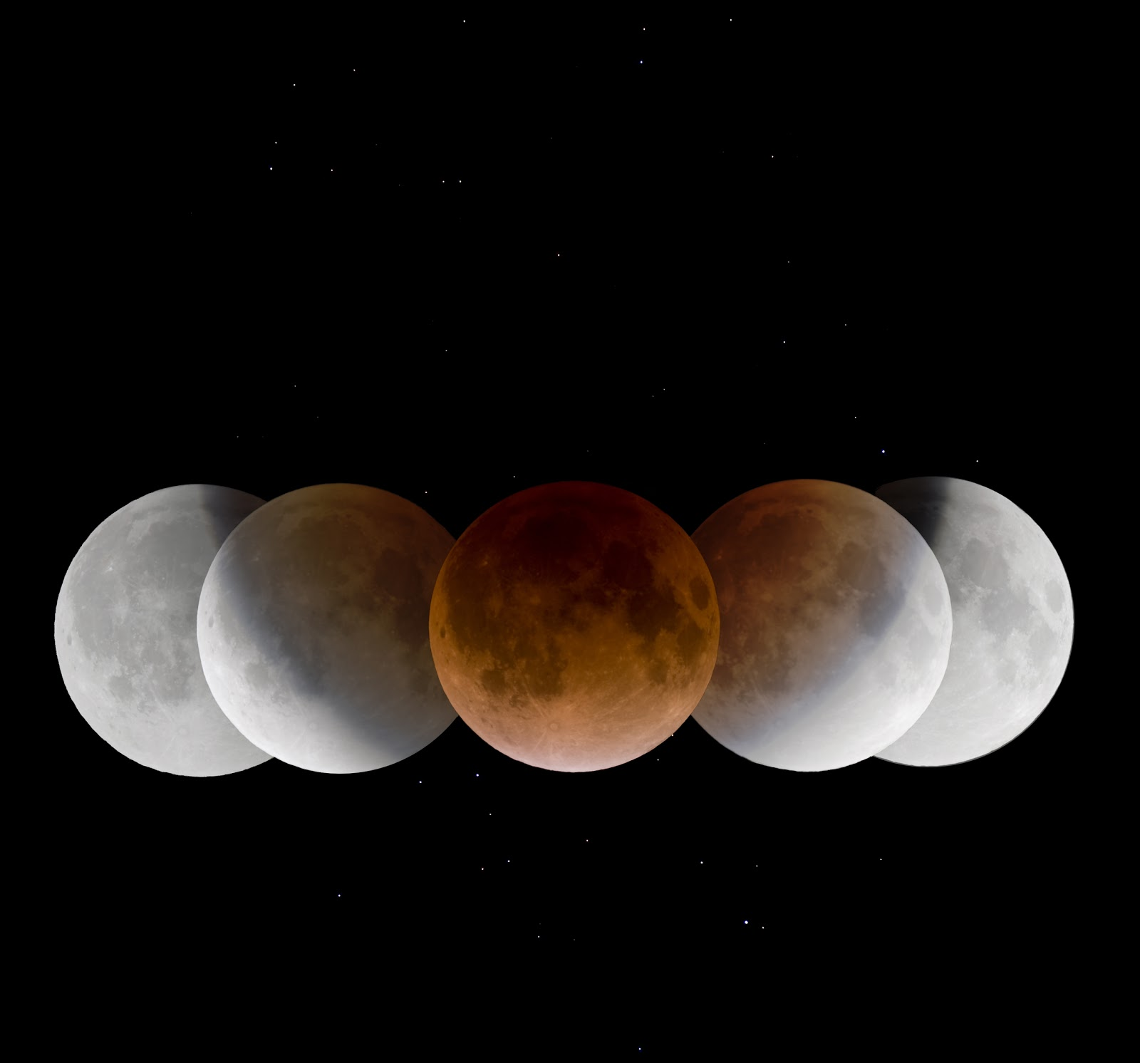 lunar phases in space - photo #29