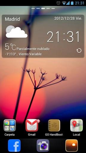 Descargar GO Launcher EX Prime v4.11 .apk [Español] Download Juegos Android Tablet Móvil Apkingdom MEGA Zippyshare