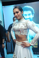 Catherine Tresa in Beautiful emroidery Crop Top Choli and Ghagra at Santosham awards 2017 curtain raiser press meet 02.08.2017 049.JPG