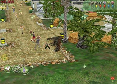 تحميل لعبة jurassic park