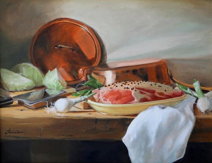 Импрессионистские картины. Jan Stommes