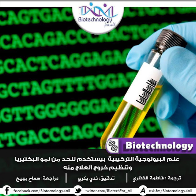 علماء البيولوجيا التركيبية يحدون من نمو البكتيريا لتنظيم انتاج العلاج منها