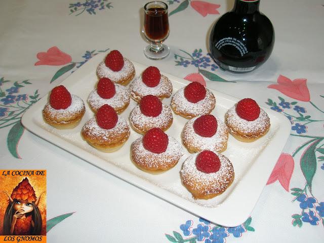 tartaletas-de-frambuesa, raspberry mini tarts