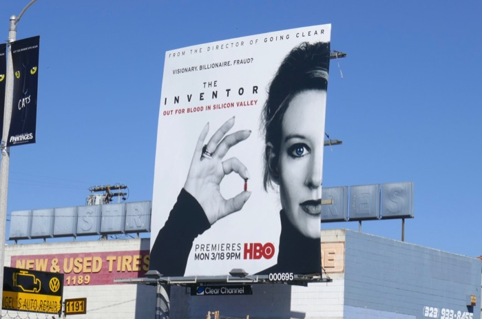 Inventor Out for Blood Silicon Valley billboard