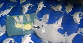 sharks, soap, hotel, amenities, toiletries