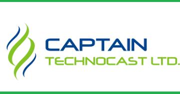 Captain technocast ipo listing