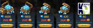 Cara Top Up Double Diamond Immortal Saga