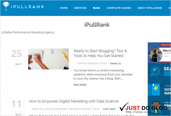 I Pull Rank blog