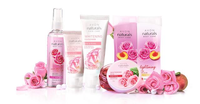 AVON Naturals Rose Range