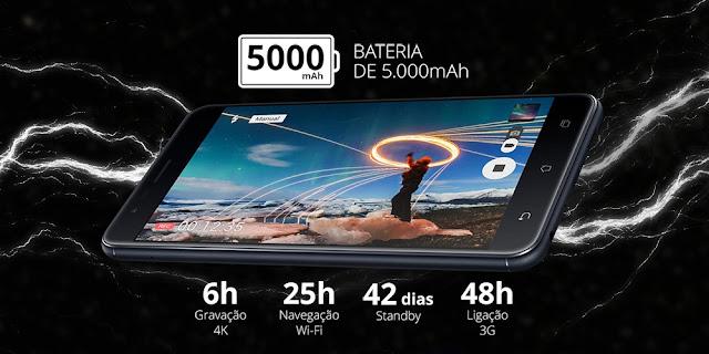 durabilidade bateria zenfone 3 zoom é melhor que a do iphone 7 plus?