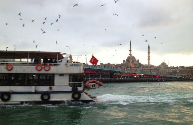 Eminönü ferry Dock Istanbul