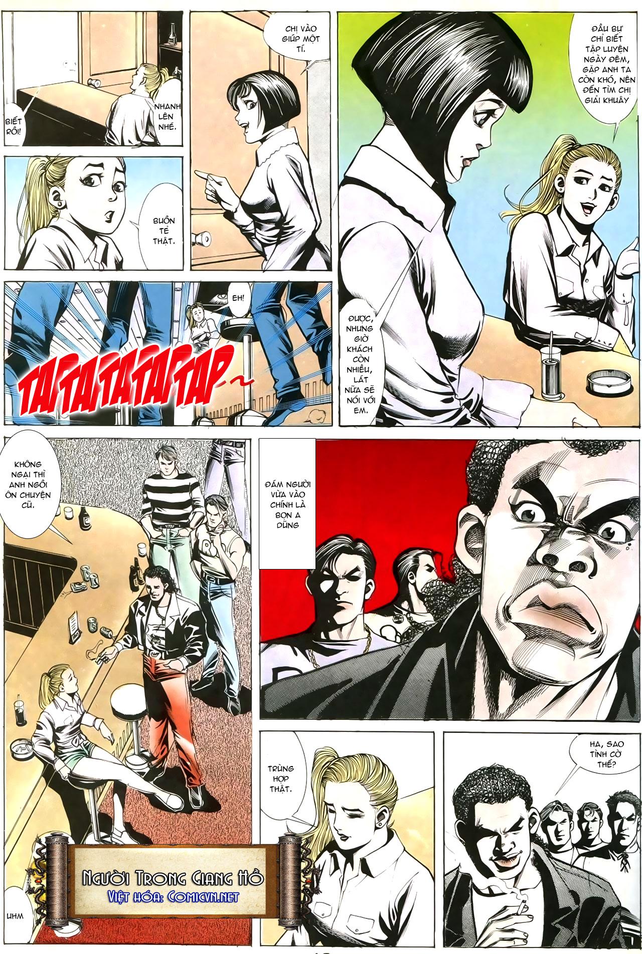 Người Trong Giang Hồ chapter 193: mưu kế đầy bụng trang 20
