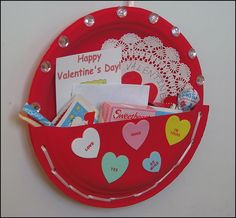 Pinterest Valentine Card holders