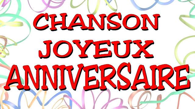 Exemple De Chanson Pour Anniversaire