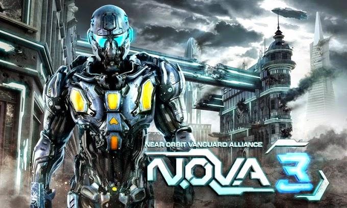 N.O.V.A. 3 – Near Orbit Version 1.0.8e Mod Apk+Data