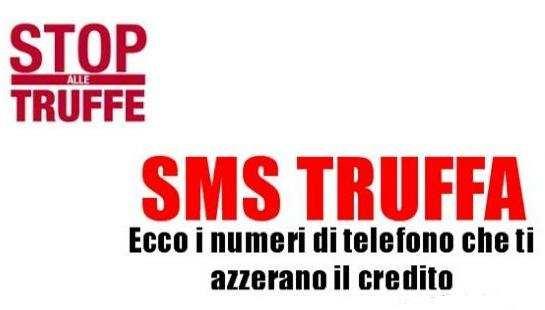 RICHIEDI AL TUO OPERATORE TELEFONICO IL BARRING SMS.