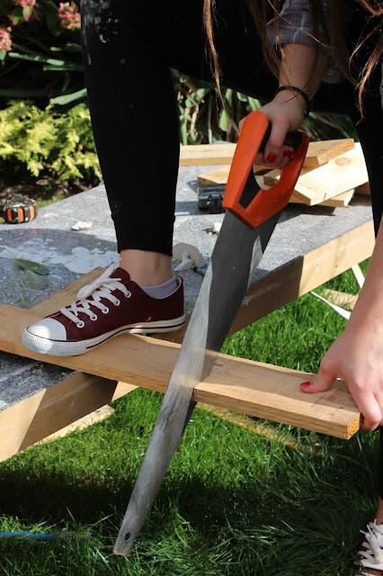 Garden DIYs with pallets