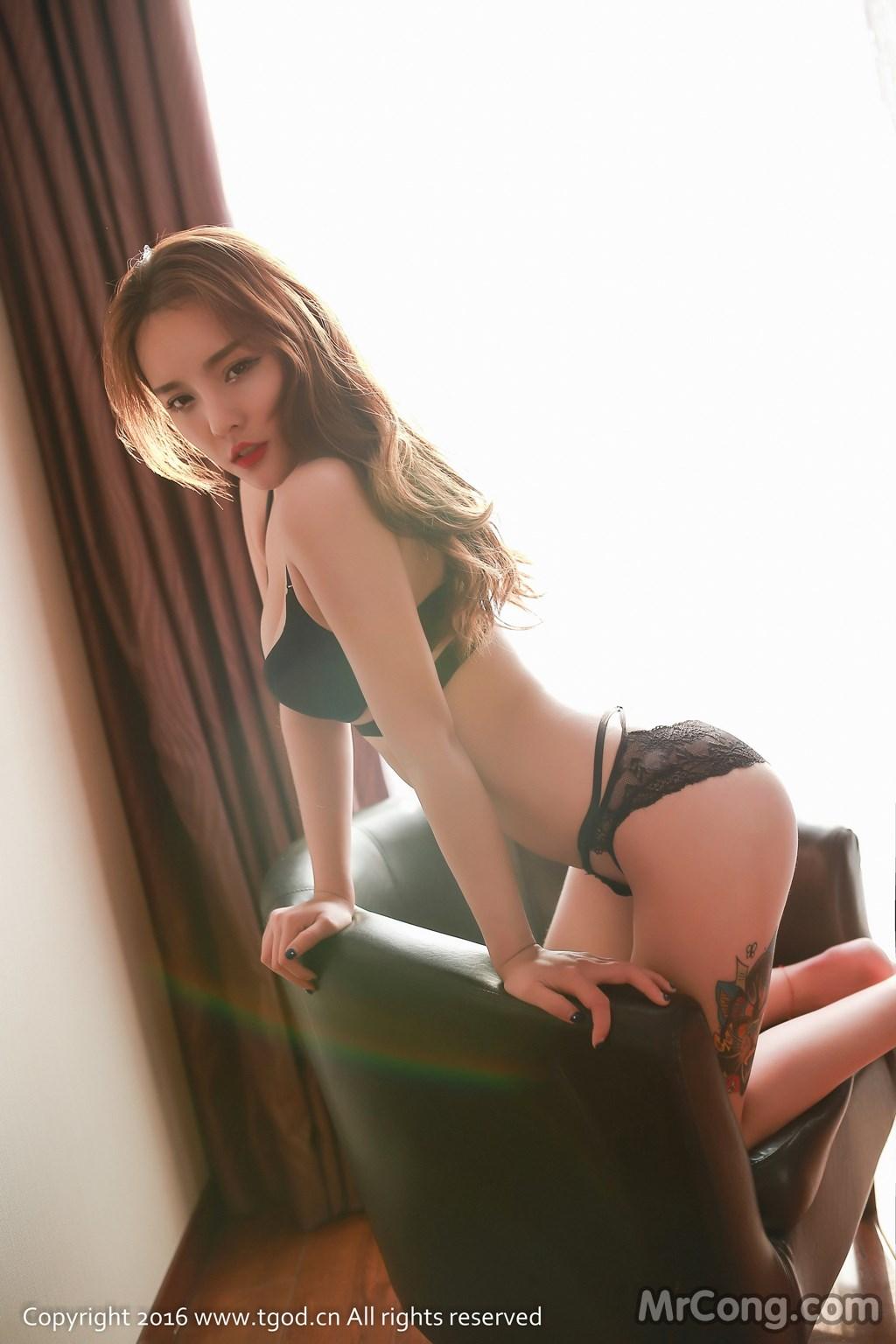 Image MrCong.com-TGOD-2016-07-22-Zhan-Ni-Hua-001 in post TGOD 2016-07-22: Người mẫu Zhan Ni Hua (珍妮花) (40 ảnh)