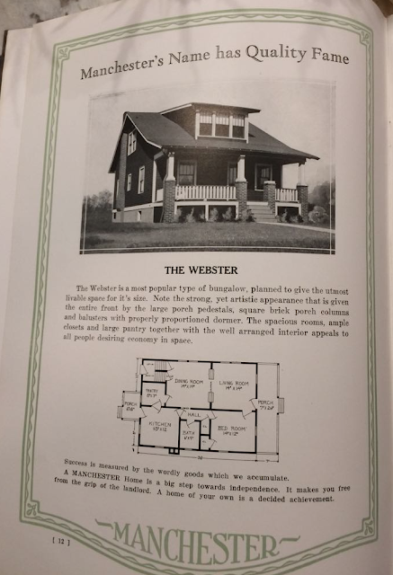 Manchester Buildings 1926 catalog: The Webster model