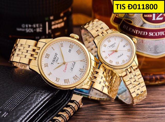 Đồng hồ đôi Tissot Đ011800